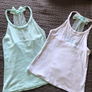Mrs and Wifey tank tops ❤️